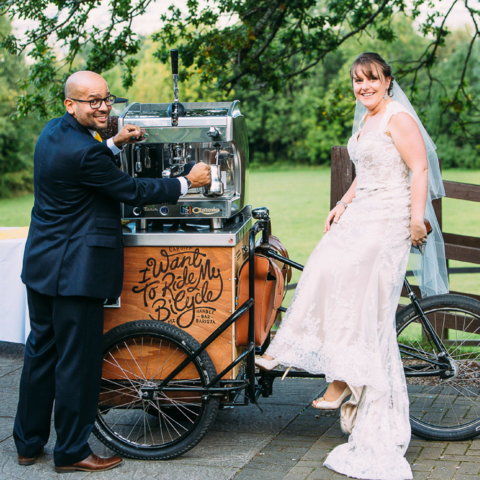handlebar barista weddings